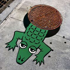 Tom Bob - New York's Amazing Vandal - Street art and graffiti magazine 3d Street Art, Street Art News, Urban Street Art, Amazing Street Art, Street Art Graffiti, Street Artists, Urban Art, Street Bob, New York Images