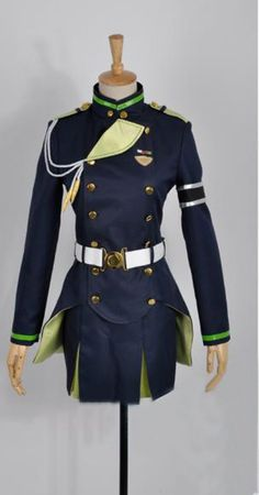 Camplayco Seraph of the End Hanayori Sayuri Uniform Cosplay Costume ** You can find out more details at the link of the image.