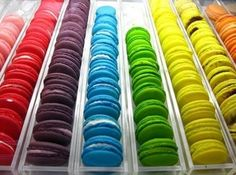 Macaroons #rainbow #macaroons