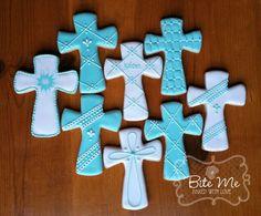 Batismal Cookies  #bitemecookies #sugarcookies #cookies #crosses