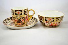 Antique Imari Royal Crown Derby Tea Set in by Dupasseaupresent
