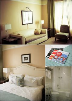 Peep these lovely shots of our room! #hotel #portland #pdx #travel #summer #sun