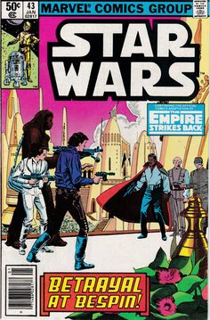 Star Wars 43 January 1981 Issue  Marvel Comics  by ViewObscura