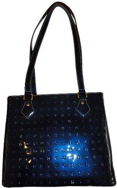 Women s Arcadia Patent Leather Purse Handbag Ocean Blue  Amazon.co.uk   Amazon.co.uk  e83e61678ee23
