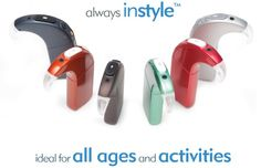 Advanced Bionics has a wide array of colors for any lifestyle for their new Naida cochlear implant processor.