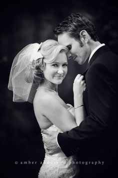 Wow!  Amazing wedding portrait by Amber Anderson Photography