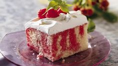 """Poke around your cupboard and freezer and you'll probably find everything you need to make a classic """"poke"""" cake. Some things just get easier."""