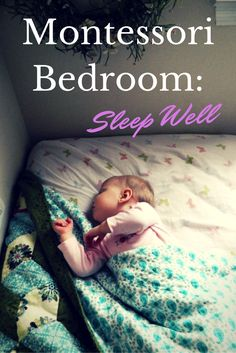Montessori Setup: Montessori Bedroom: Sleep Well-Info for parent meetings Montessori Bedroom, Montessori Toddler, Montessori Homeschool, Maria Montessori, Toddler Rooms, Baby Time, Infant Activities, Baby Sleep, Kids And Parenting