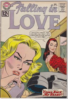 *Cover art also used for splash of last story. Dc Comic Books, Comic Book Artists, Comic Book Covers, Comics Story, Dc Comics, Romance Comics, Bad Relationship, My Only Love, Drama Queens