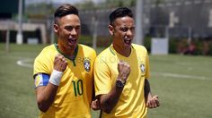 Neymar Jr and his wax double   FC Barcelona