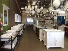Images Of See our range of discontinued and old lights in our vanity kitchen sink showroom