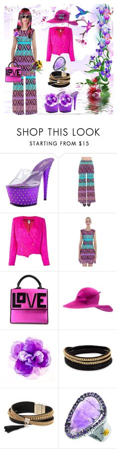 """""""To stay thin a woman should eat in front of the mirror naked. (Faina Ranevskaya)"""" by m-kints ❤ liked on Polyvore featuring Pleaser, ARP, Emanuel Ungaro, Les Petits Joueurs, Philip Treacy, Johnny Loves Rosie, Vita Fede, Simons and Phillip Gavriel"""
