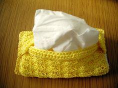 Ravelry: April Pocket Tissue Case pattern by Cute Crafts Emporium Crochet Motif, Crochet Yarn, Free Crochet, Crochet Patterns, Crochet Ideas, Tissue Box Covers, Tissue Holders, Crochet Purses, Cute Crafts