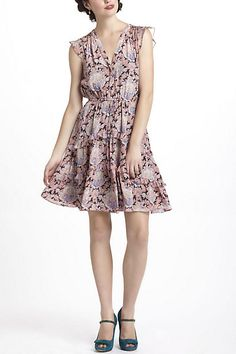 Pastel Paisley Dress (Red Motif). Anthropologie. $158.00