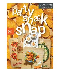 Look at this #zulilyfind! Party Snack Snap Card Game by Hello Sweet Potato #zulilyfinds