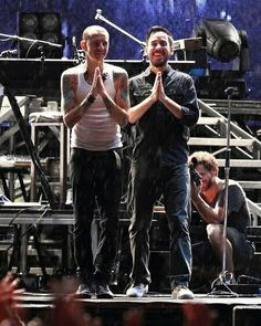 Chester and Mike bff's ❤