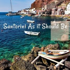 Ah Santorini! The beautiful island that is home to the iconic blue domes, but is so much more. See it as it should be seen. Beautiful Photos Of Nature, Nature Photos, Travel Around The World, Around The Worlds, Us Sailing, Santorini Greece, Beautiful Islands, Greek Islands, Us Travel