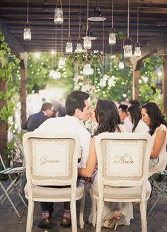 3 Super Stylish Wedding Reception Tent Alternatives:  #2. Rustic Trellis