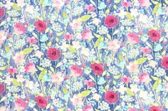Japanese Fabric Yuwa - vintage floral double gauze - 50cm