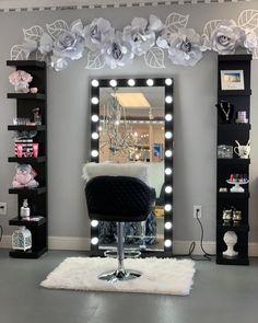 Bedroom Decor For Teen Girls, Cute Bedroom Ideas, Cute Room Decor, Teen Room Decor, Room Ideas Bedroom, Teenage Girl Bedroom Designs, Wall Decor, Beauty Room Decor, Makeup Room Decor