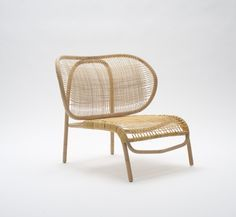 """Dumbo"" rattan chair designed by Morten Husum Nielsen for Sika-Design Rattan Furniture, Design Furniture, Chair Design, Modern Furniture, Home Furniture, Rattan Armchair, Furniture Stores, Cheap Furniture, Canapé Design"