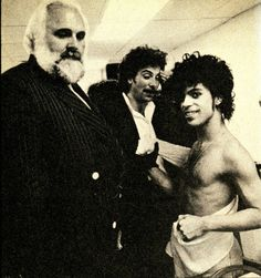 Prince, body guard Big Chuck,  & Doc from The Revolution
