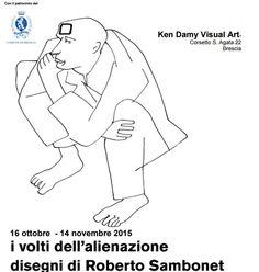 La mostra I volti dell'alienazione ospitata al Museo Ken Damy,corsetto…