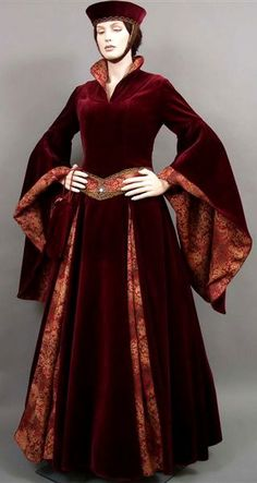 Studio for historical fashion, gothic and fantasy. Picture Same Dress ~ lovely gowns here Costume Renaissance, Medieval Costume, Renaissance Fashion, Medieval Gown, Medieval Clothing, Steampunk Clothing, Steampunk Fashion, Historical Costume, Historical Clothing