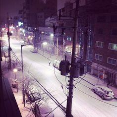 minminhan / 눈인증 / #골목 #눈 #거리 / 서울 마포 합정 / 2012 01 24 /