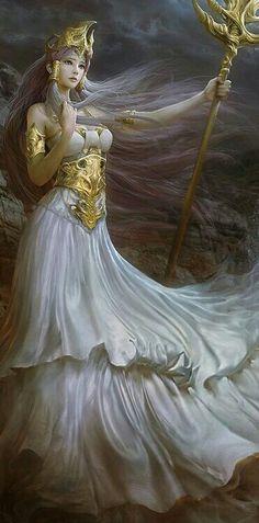 Imagem de Queen, warrior, and withe