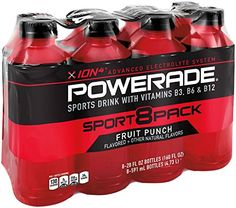 POWERADE Fruit Punch, 8 ct, 20 FL OZ Bottle * Want additional info? Click on the image.