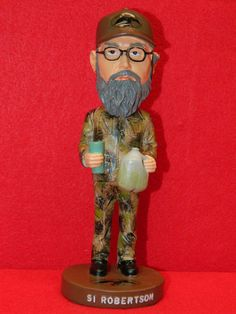 Duck Dynasty Bobbleheads New Uncle SI Robertson Bobblehead Doll Duck Commander | eBay