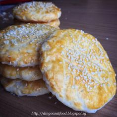 Wife Biscuit - A traditional Cantonese pastry with flaky crust and sweet winter melon fillings. Commonly found in Hong Kong, Singapore and Malaysia. Making this at home is possible with this simplified recipe with step by step tutorial.