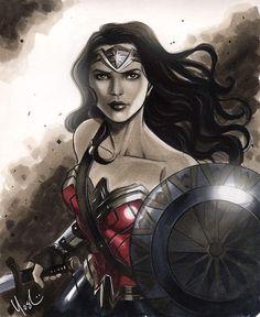 Wonder Woman by Lynne Yoshii