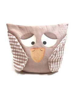 Owl toy pillow by tulimami