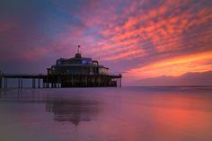 Blanderge Pier zonsondengang