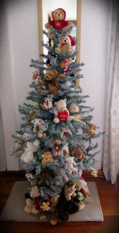teddy bear christmas tree d