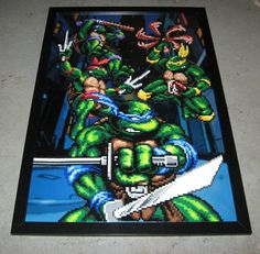 Teenage Mutant Ninja Turtles by Z3r0k3w1 on Etsy