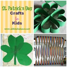 St. Patrick's Day Crafts for Kids #typeaparent