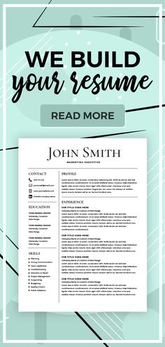 Make Your Resume | The 3343 Best Cv Resume Design Images On Pinterest In 2019 Cv