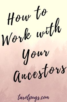 Learn how to honour and work with your ancestors in your spiritual and/or witchcraft practice.