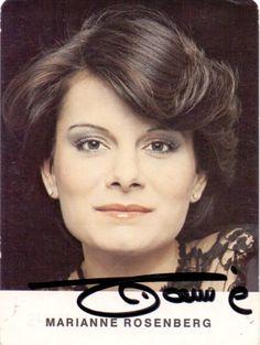Marianne Rosenberg – Original signierte PHILIPS Autogrammkarte der deutschen Schlagersängerin. www.starcollector.de