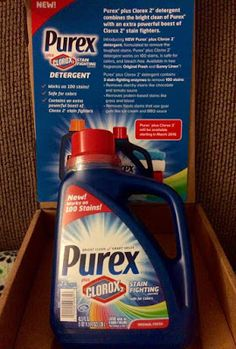 Check out my review plus enter to win a coupon for Purex plus Clorox2. #giveaway #purexplusclorox2 #socialinsiders #ad