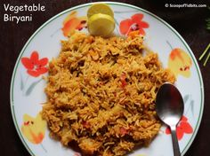 Vegetable Biryani is an easy one pot dish that is made frequently at home as my family loves Biryani. Since my school days, I have got this habit of noting
