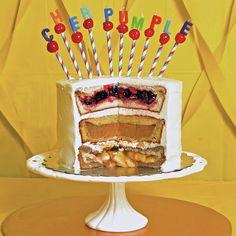 Thanksgiving Cherpumple: The Turducken of Desserts