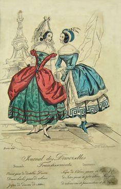 February 1843 Journal des Demoiselles