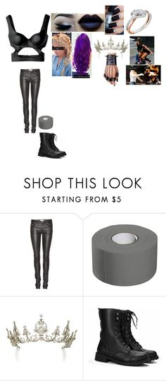 """""""Perry-ringside for Gallows and Anderson"""" by princess-nikki123 ❤ liked on Polyvore featuring Alexander McQueen and Yves Saint Laurent"""