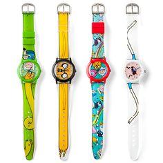 É Hora de Aventura com os relógios do Adventure Time!