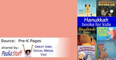 Hanukkah Books for The Therapy Room- pinned by @PediaStaff – Please Visit ht.ly/63sNtfor all our pediatric therapy pins
