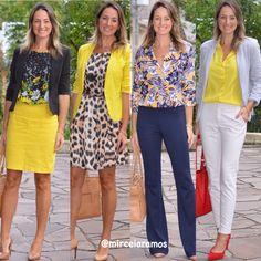 Look de trabalho - look do dia - look corporativo - moda no trabalho - work outfit - office outfit - spring outfit - look executiva - look de verão - summer outfit - amarelo - Yellow